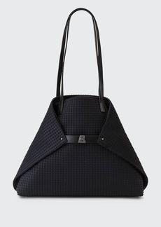 Akris Ai Medium Techno Fabric Shoulder Bag