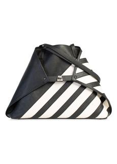 Akris Ai Stripe Leather Tote