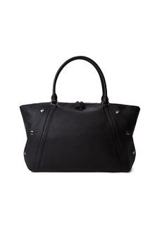 Akris Aimee Medium Leather Satchel Bag