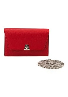 Akris Anouk Clutch Bag w/Chain
