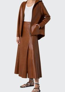 Akris Blouson Napa Lamb Leather Jacket