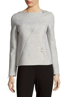 Akris Bombay Cashmere Top