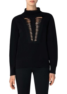 Akris Cashmere & Silk Sweater