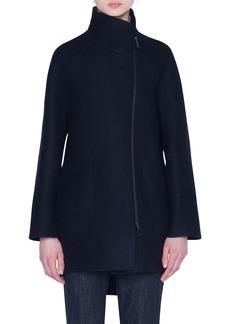Akris Cashmere Jersey Cocoon Jacket