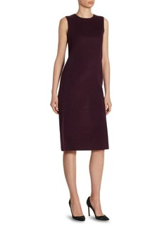 Akris Cashmere Reversible Dress
