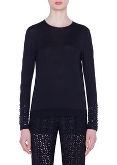 Akris Cashmere-Silk Sweater