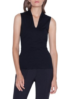 Akris Cotton Stretch Jersey Top
