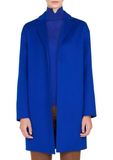 Akris Double Face Cashmere Coat