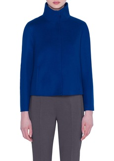 Akris Double Face Cashmere Jacket