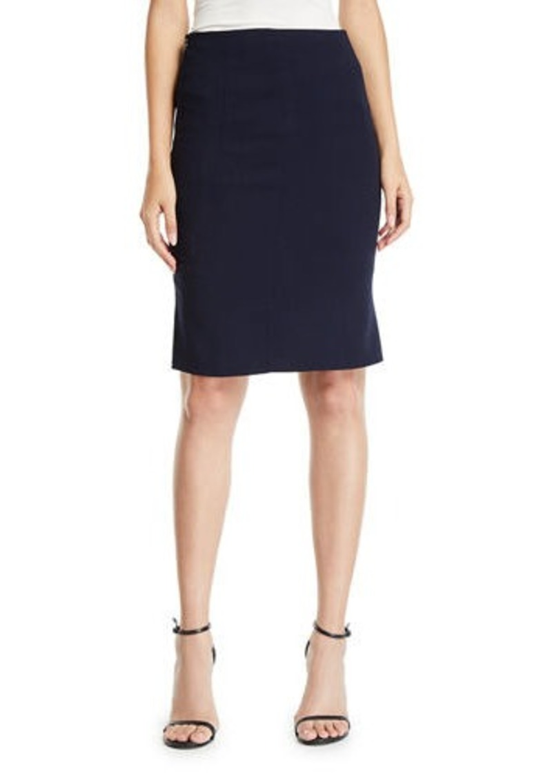 Akris Double-Face Pencil Skirt