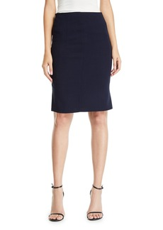 Akris Double-Face Pencil Skirt