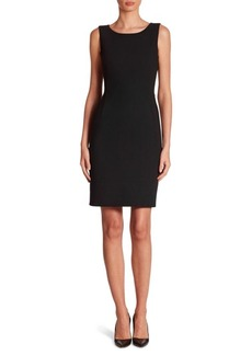 Akris Double-Face Sheath Dress