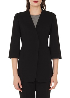 Akris Double Face Wool Blend Jacket