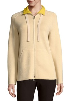 Akris Drawstring Cashmere Jacket