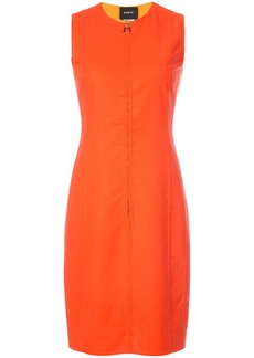 Akris fitted dress - Yellow & Orange