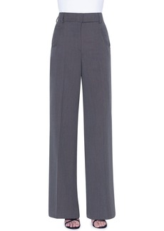 Akris Floyd Wool Wide-Leg Pants