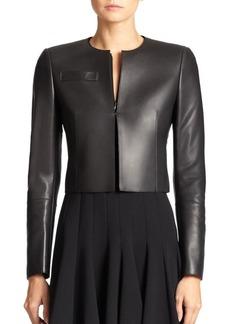 Akris Hasso Leather Jacket