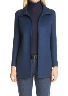 Akris Katja Double Face Cashmere Jacket