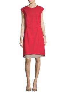Akris Knee-Length Shift Dress