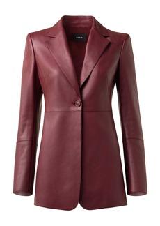 Akris Lambskin Leather Jacket