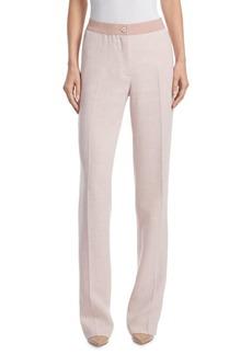 Akris Linen & Wool Pants