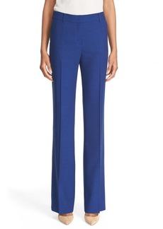 Akris Linen Bootcut Pants