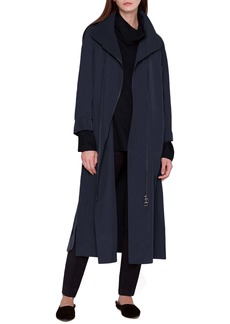 Akris Long Taffeta Coat