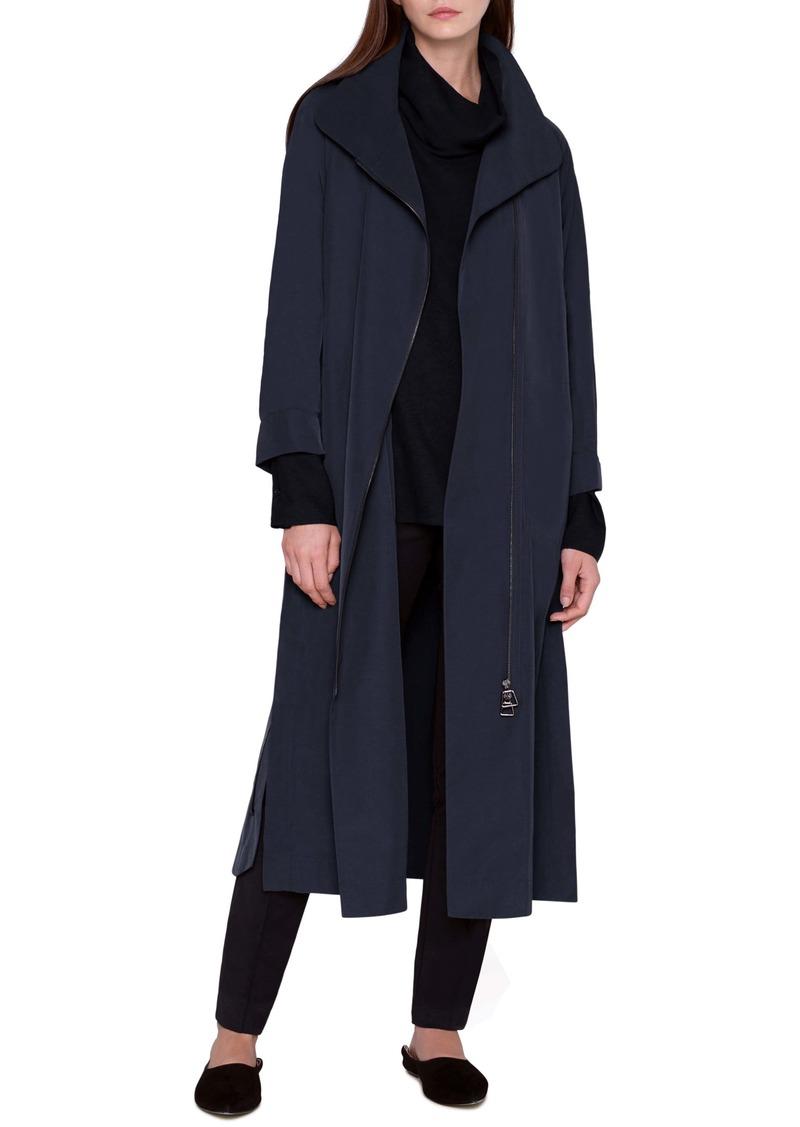 Akris Long Taffeta Coat