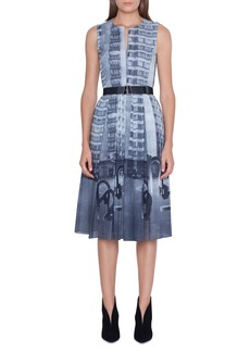 Akris Magnets in the City Print Dress