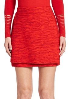 Akris Masai-Detail Overlay Skirt