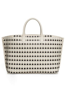 Akris Medium AI Woven Leather Tote