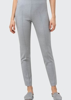Akris Melissa Stretch Wool Slim-Leg Pants
