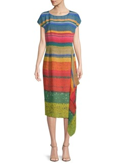 Akris Multicolored Silk Dress