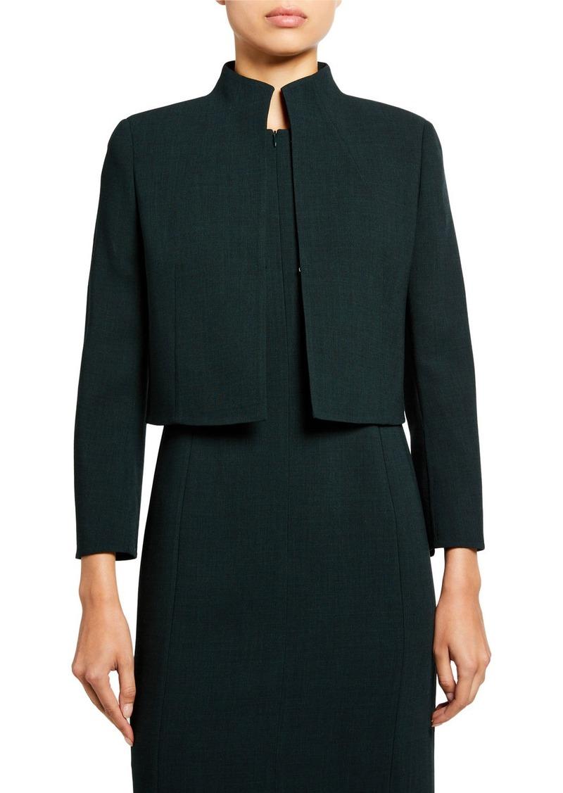 Akris Pandora Double-Face Wool Jacket