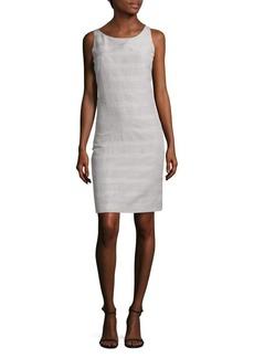 Akris Plaid Sleeveless Dress