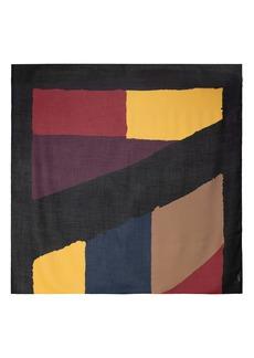 Akris Print Cashmere & Silk Square Scarf