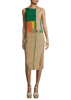 Akris Printed Midi Dress