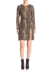 Akris Animal Print Dress