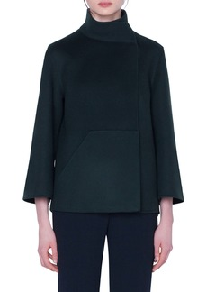Akris Rafael Double Face Cashmere Jacket