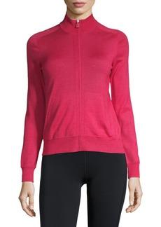 Akris Raglan-Sleeve Full-Zip Jacket