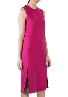 Akris Reversible Bicolor Cashmere Sheath Dress