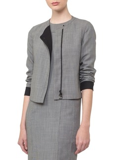 Akris Reversible Zip-Front Jacket
