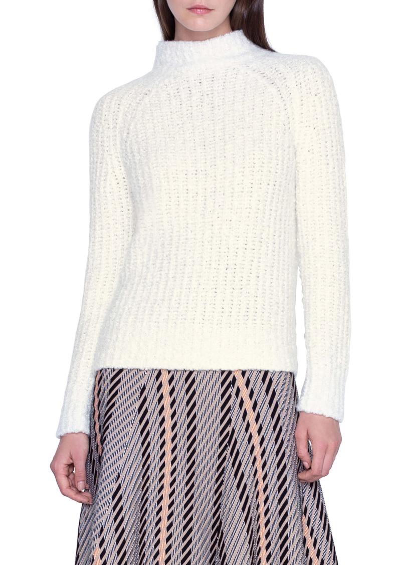 Akris Rib Cashmere & Silk Sweater