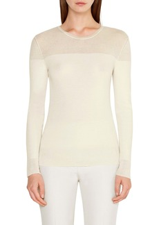Akris Rib Wool & Silk Sweater