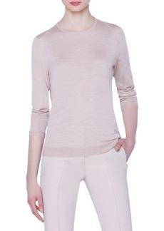 Akris Seamless Fine-Gauge Cashmere-Silk Sweater