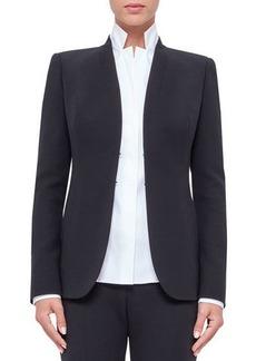 Akris Shawl-Collar Wool Jacket