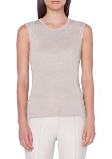 Akris Silk Blend Sweater Tank