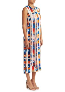 Akris Silk Crepe Dress