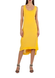 Akris Sleeveless Silk Georgette Dress