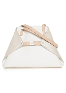 Akris Small AI Leather Tote